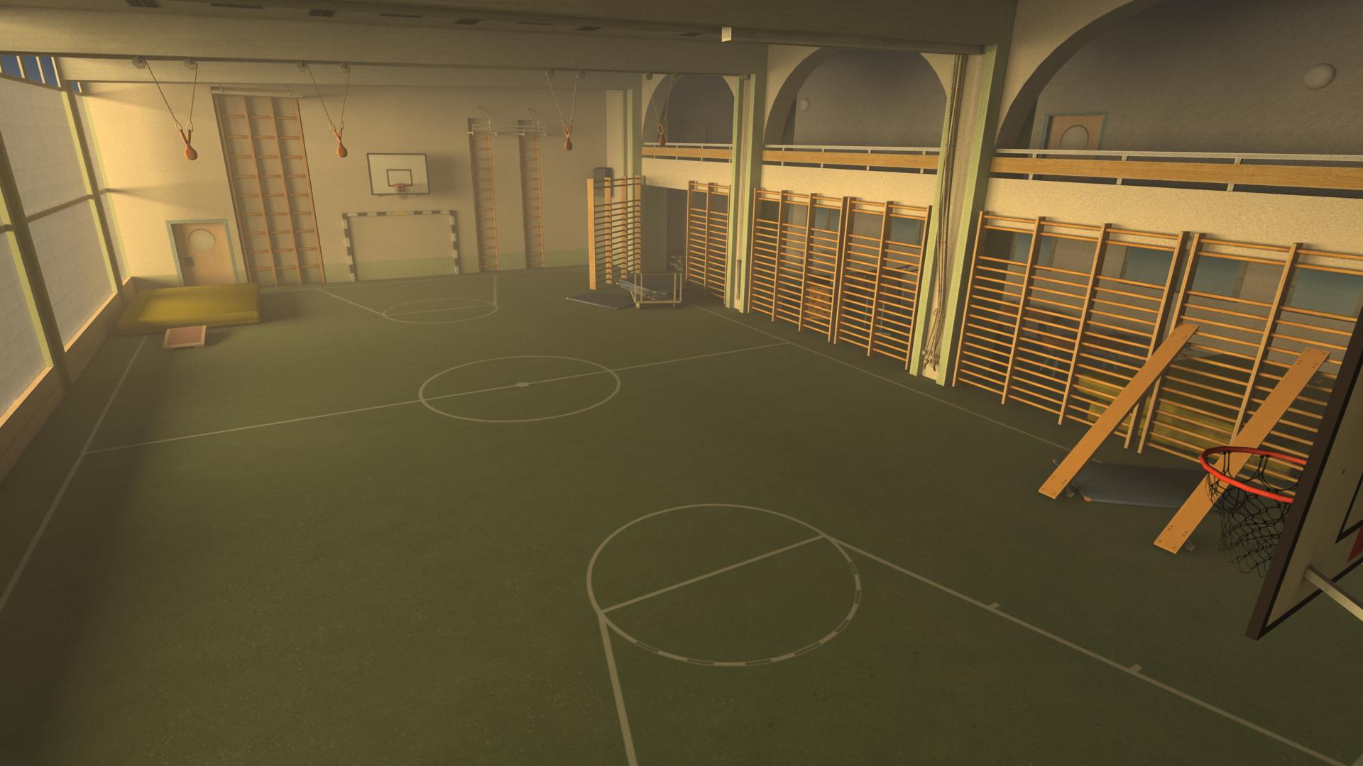 3D, Gym Hall