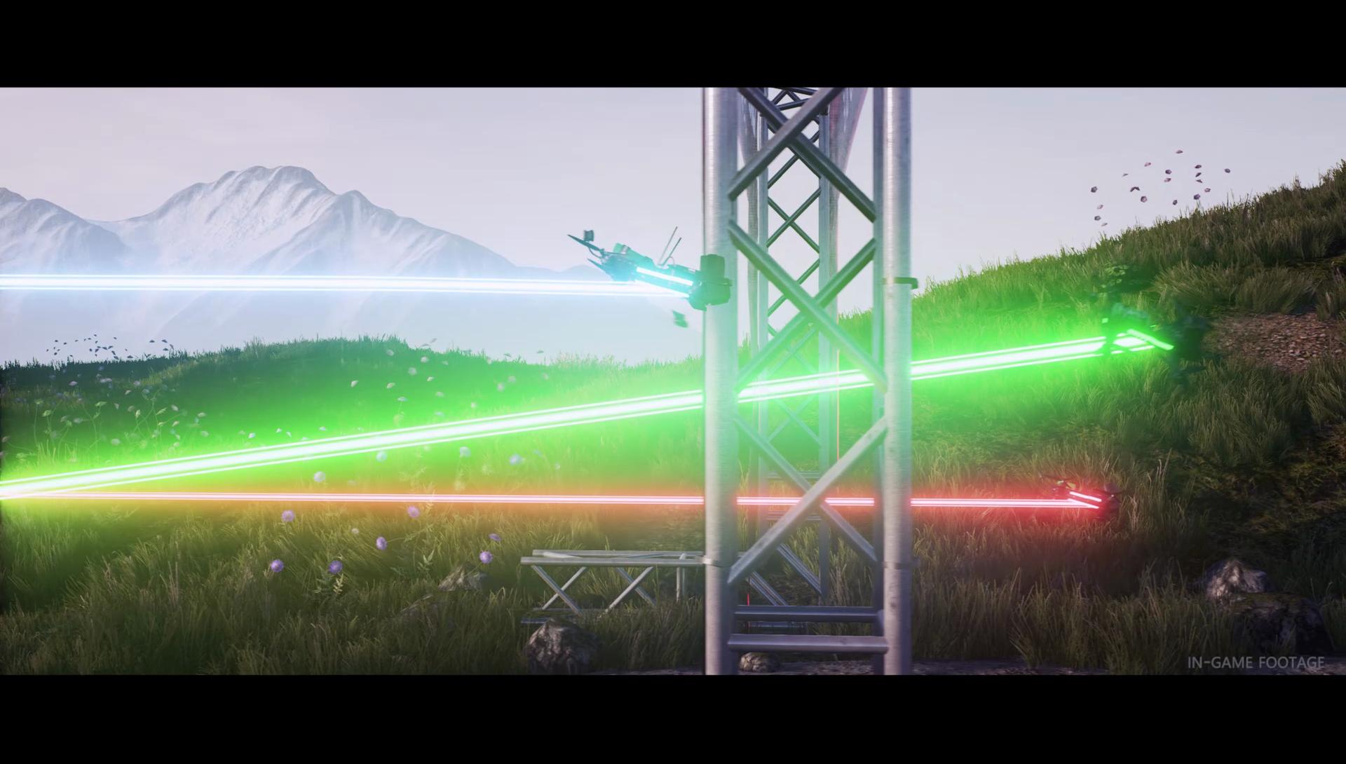 VFX, Drone Champions Game